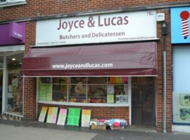 TOWN CENTRE RETAIL PREMISES - Currently DELICATESSEN/BUTCHERY, Approx 700 sq ft - TO LET