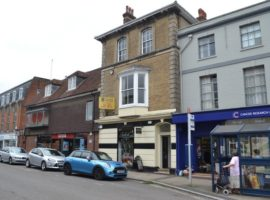 PROMINENT TOWN CENTRE BUILDING - 2,200 SQ FT OFFICES WITH PARKING - FOR SALE