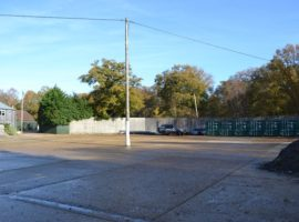 OPEN STORAGE SPACE - TO LET - UP TO 1/4 ACRE
