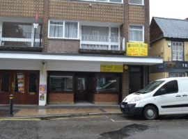 TOWN CENTRE BUSINESS PREMISES 1000 SQ FT - TO LET OR FOR SALE FREEHOLD