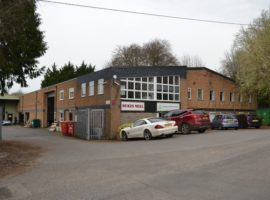 27,000 sq ft INDUSTRIAL AND OFFICE PREMISES, CLASS E BUSINESS USE, 1.25 ACRE SITE - FREEHOLD FOR SALE